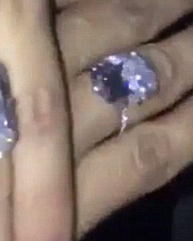 Kardashian Showed Off $4.5 Million Ring Before Robbery Promo Image
