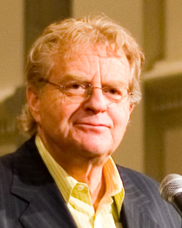 Democrats Want Jerry Springer To Run For Ohio Governor Promo Image