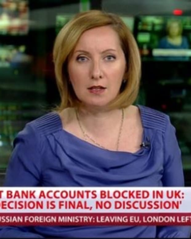 UK Bank To Close Russian State Media Outlet's Accounts Promo Image