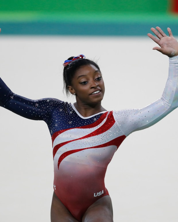 Simone Biles' Response To Judges Goes Viral (Video) Promo Image