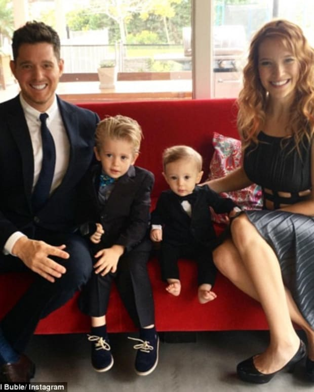 Michael Buble's Son Receives Devastating Diagnosis Promo Image