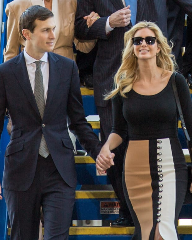 Ivanka Trump And Jared Kushner Might Leave White House Promo Image