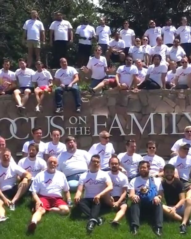 Gay Men's Chorus Sings At Anti-Gay Ministry (Video) Promo Image