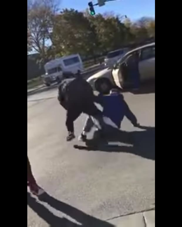 Chicago Trump Supporter Beaten By Five Suspects (Video) Promo Image