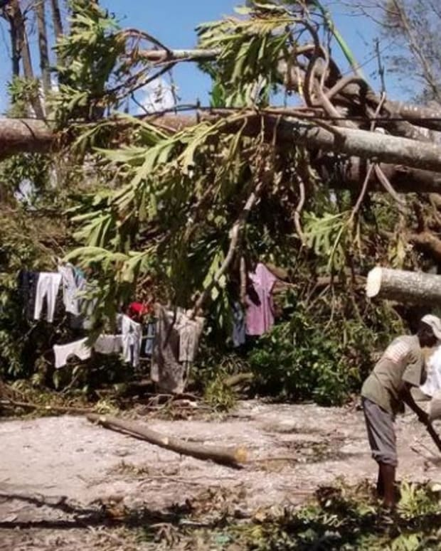 Hurricane Matthew: Over 1,000 Dead In Haiti; 21 In U.S. Promo Image