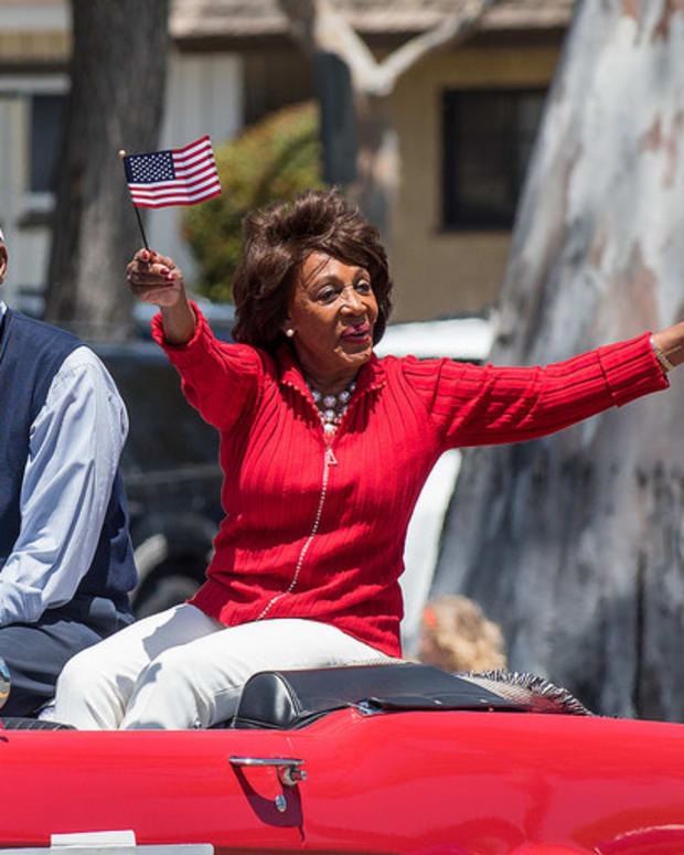 Maxine Waters: Trump Is 'Disgusting,' 'Disrespectful' Promo Image