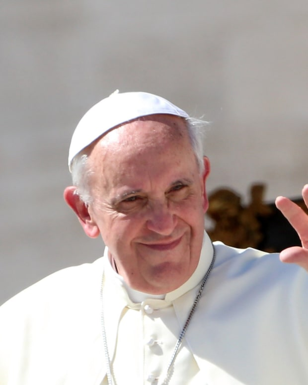 Pope Francis Is Not Liberal Promo Image