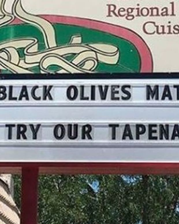 'Black Olives Matter' Billboard Sparks Outrage (Photo) Promo Image