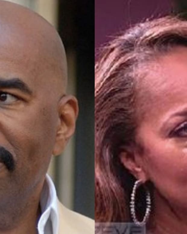 Steve Harvey's Wife Breaks Down After He Reveals The Secret He's Been Keeping For 9 Years Promo Image