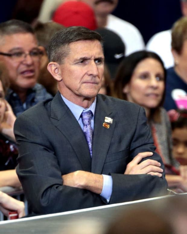 Michael Flynn Resigns Amid Controversial Ties To Russia Promo Image
