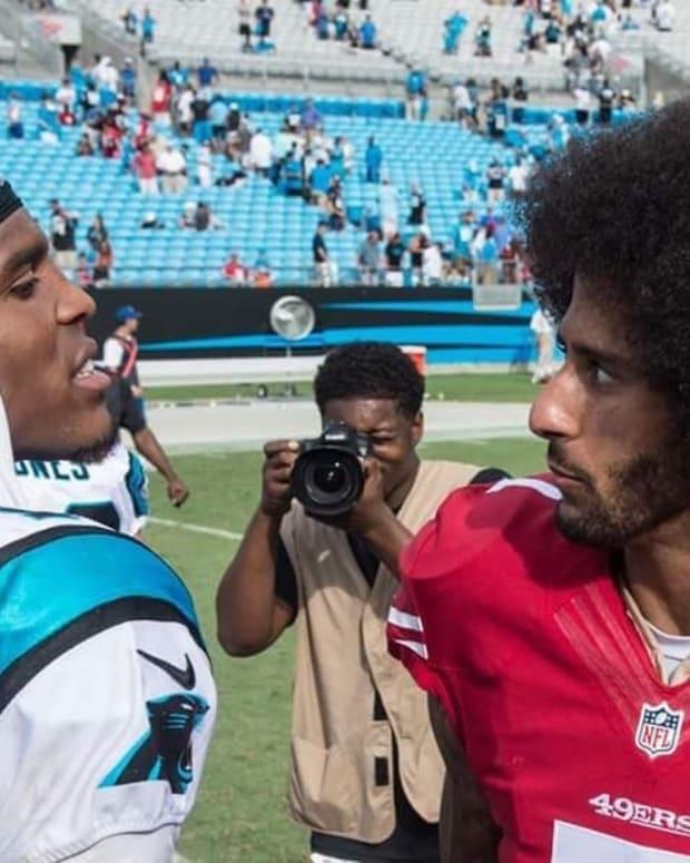 Feud Develops Between Cam Newton And Kaepernick (Photo) Promo Image