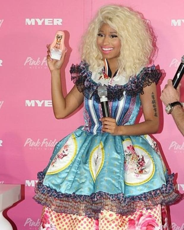 Nicki Minaj Criticized For Laughing At Woman In Video Promo Image