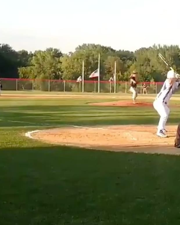 High School Player's Great Home Plate Steal (Video) Promo Image