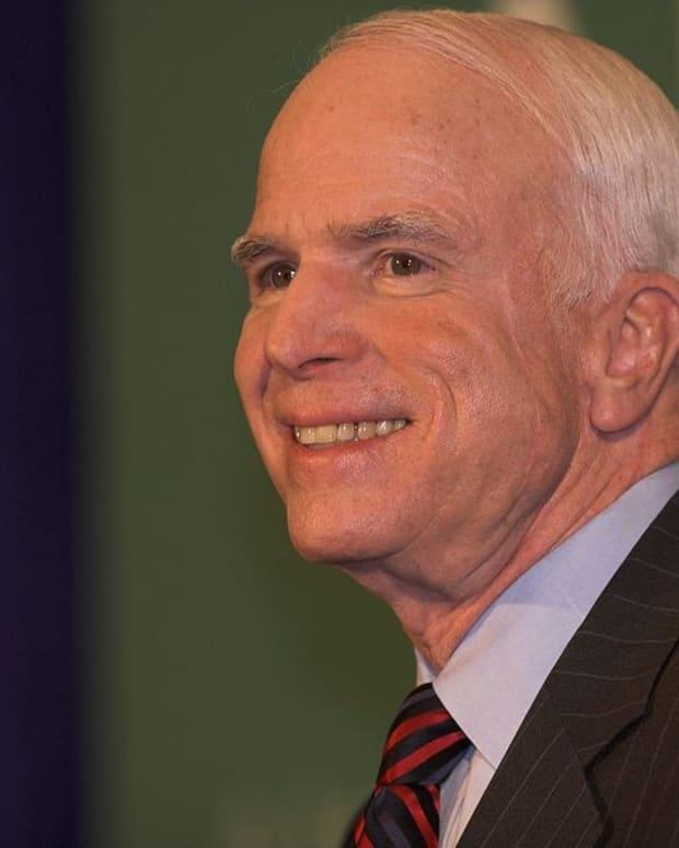 John McCain Criticizes Trump On Syria Promo Image