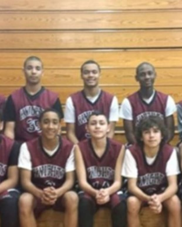 Middle School Basketball Players Spot What's Happening In Stands, Walk Off Court (Video) Promo Image