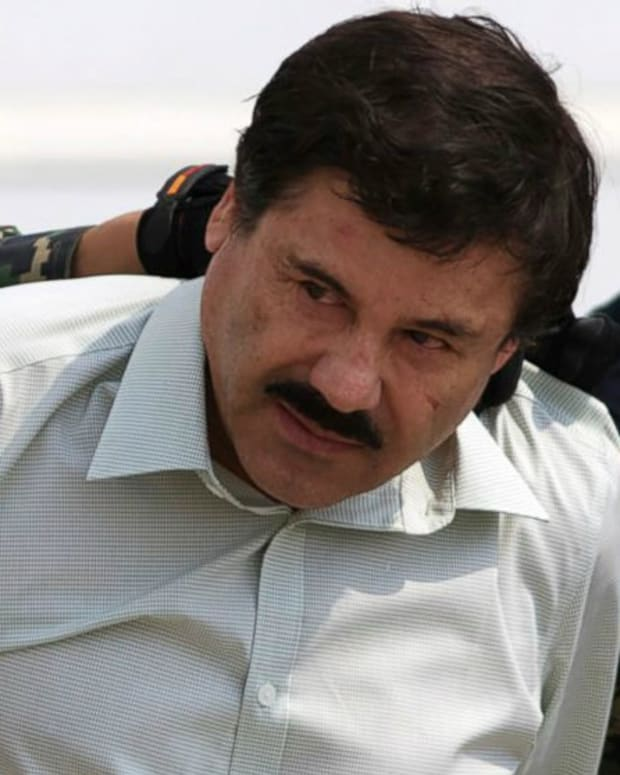 Mexican Authorities Send El Chapo Over To U.S. Promo Image