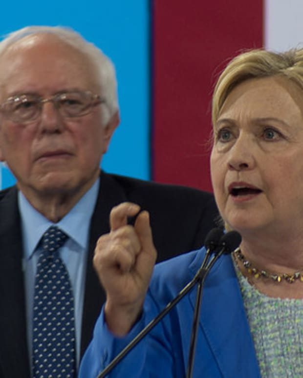 Sanders Vows To Push Clinton On Progressive Policies Promo Image