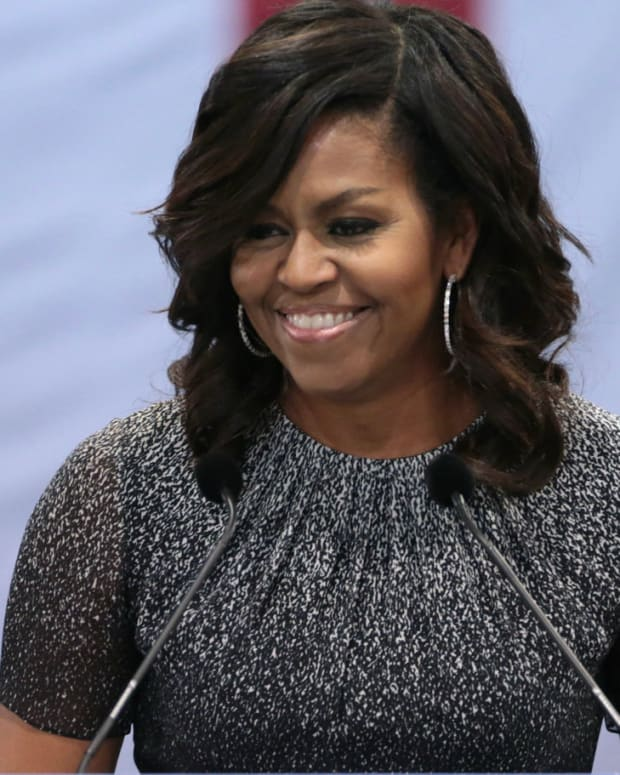Michelle Obama's Shocking Rumored Memoir Plans Promo Image