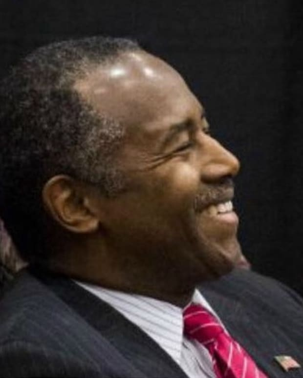 Trump 'Thrilled' To Have Carson Heading HUD Promo Image