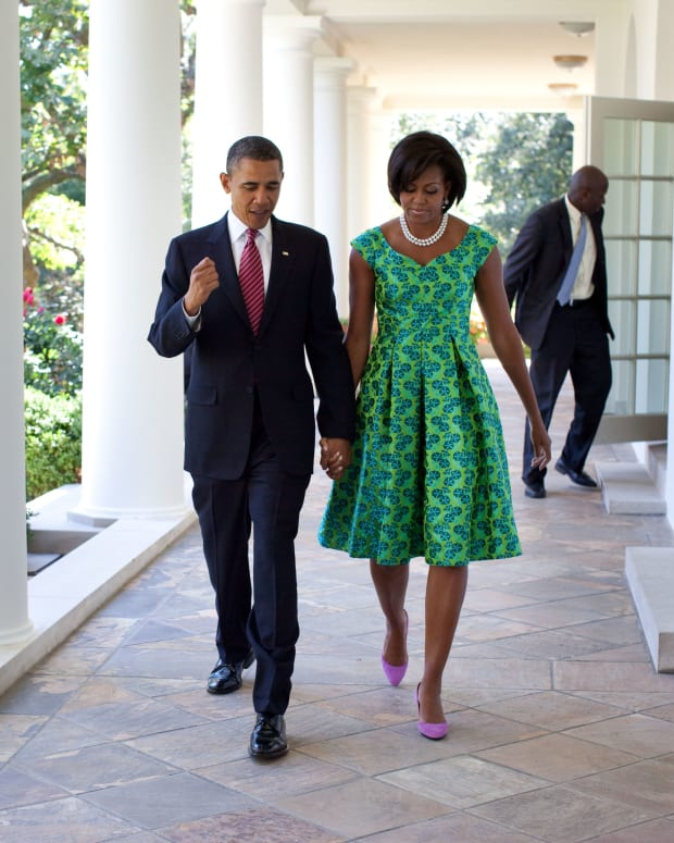 Obamas Wrap Up Virgin Islands Vacation (Photos) Promo Image