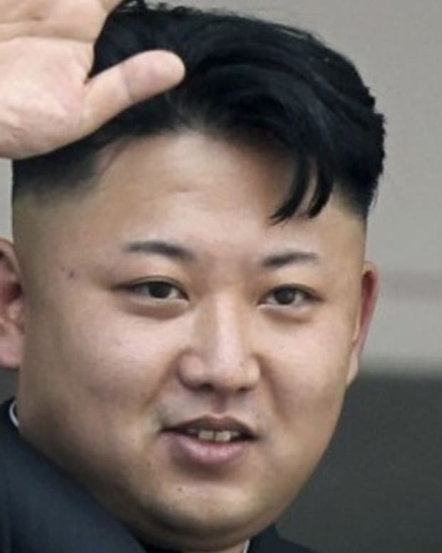 Kim Jong Un Wakes From Blackout, Sees Crying Veterans Promo Image