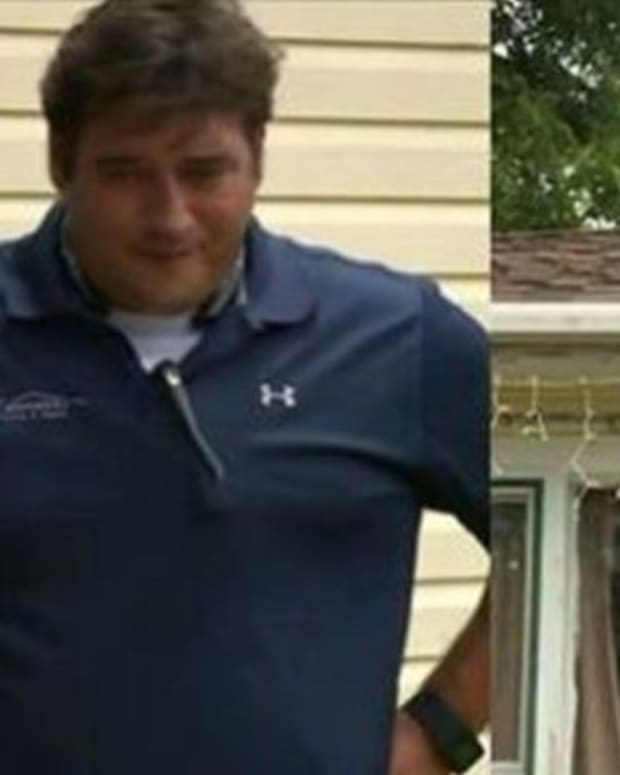 Contractor Brought In To Fix Room, Becomes Horrified When He Looks Inside Home Promo Image