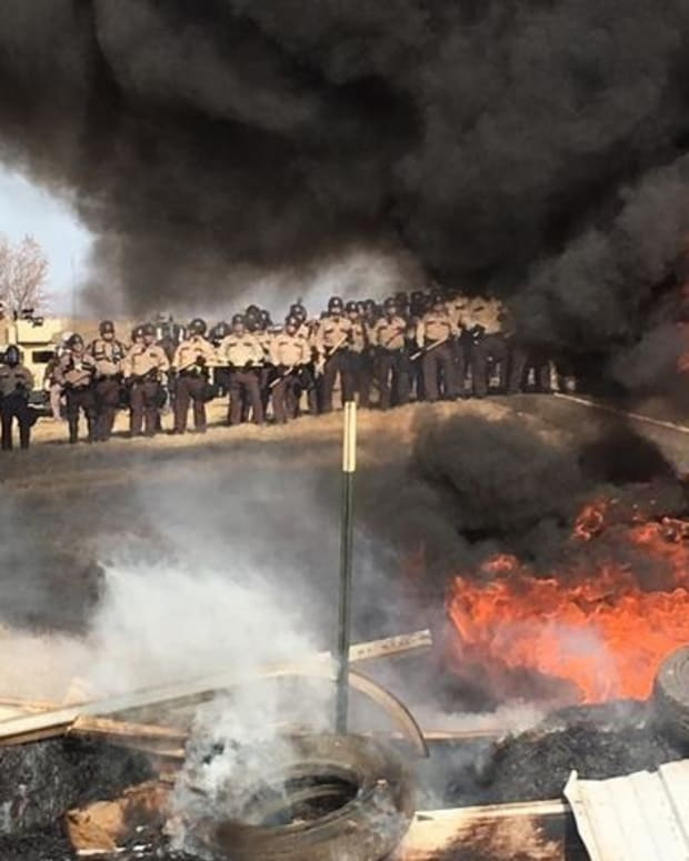 ND Pipeline Protest Arrests Strain State Court System Promo Image