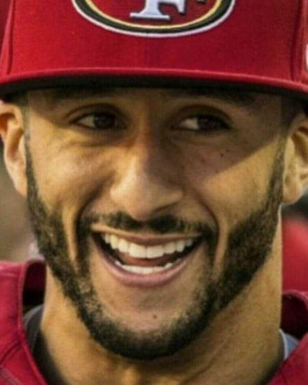 Kaepernick To Donate Proceeds From Surging Jersey Sales Promo Image