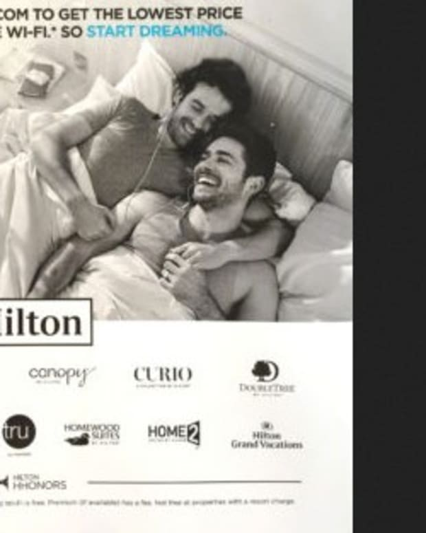 Christian Group Opposes Gay Hilton Hotel Ad Promo Image