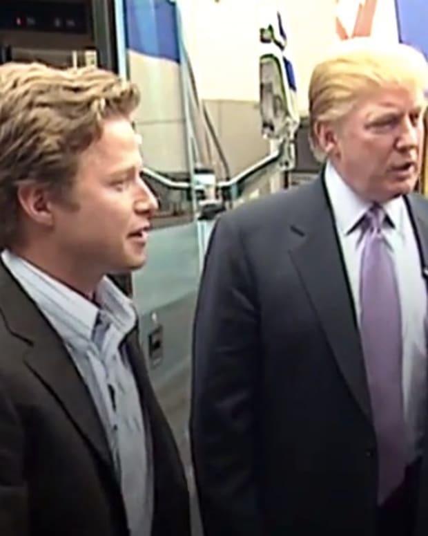 Trump Caught Making Vulgar Sexual Remarks (Video) Promo Image