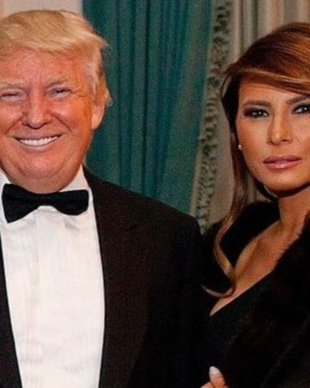 Clip Shows Melania Frowning At Husband's Inauguration (Video) Promo Image