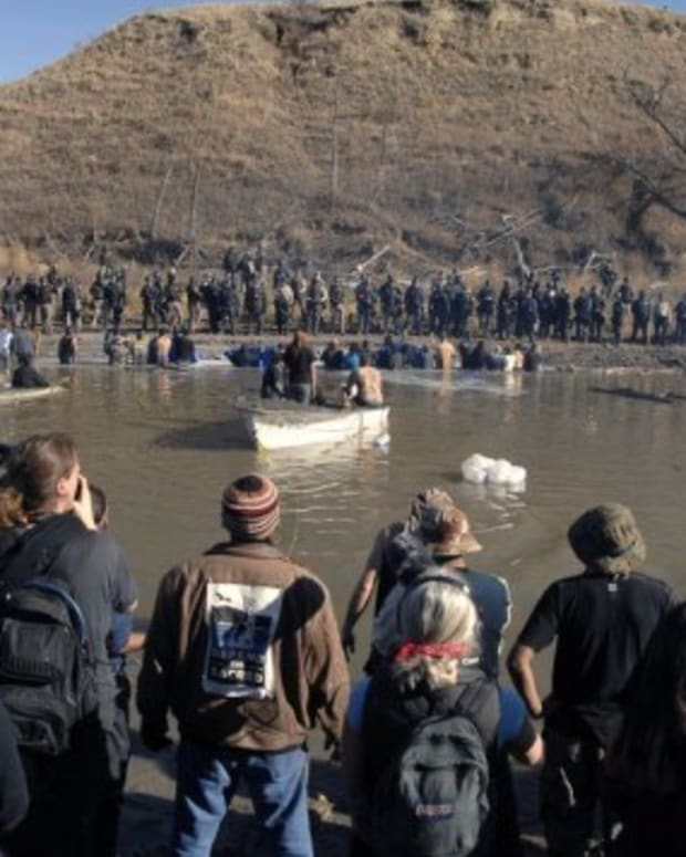 Jewish Groups Voice Support For Standing Rock Protest Promo Image