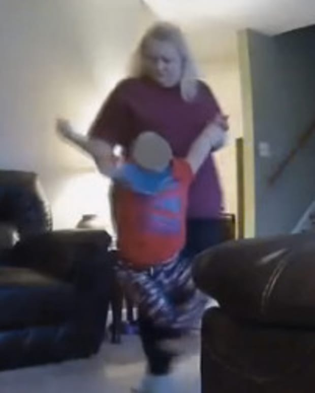 Woman Caught On Video Charged With Child Abuse Promo Image