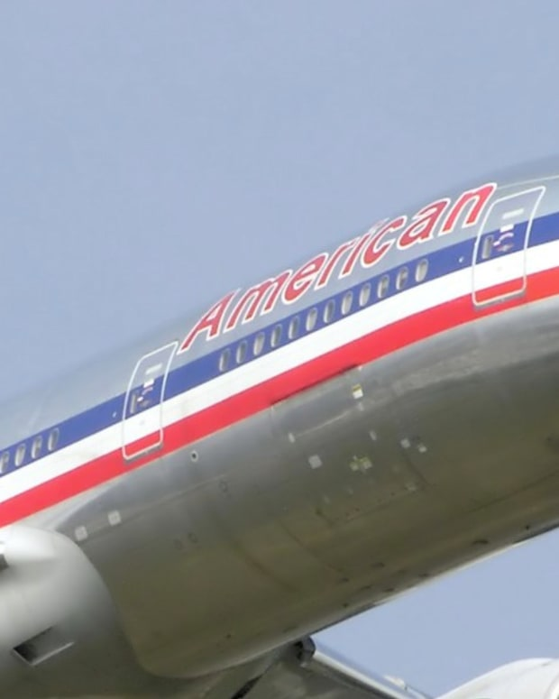 American Airlines Employee Tells Passenger: 'Hit Me!' (Video) Promo Image