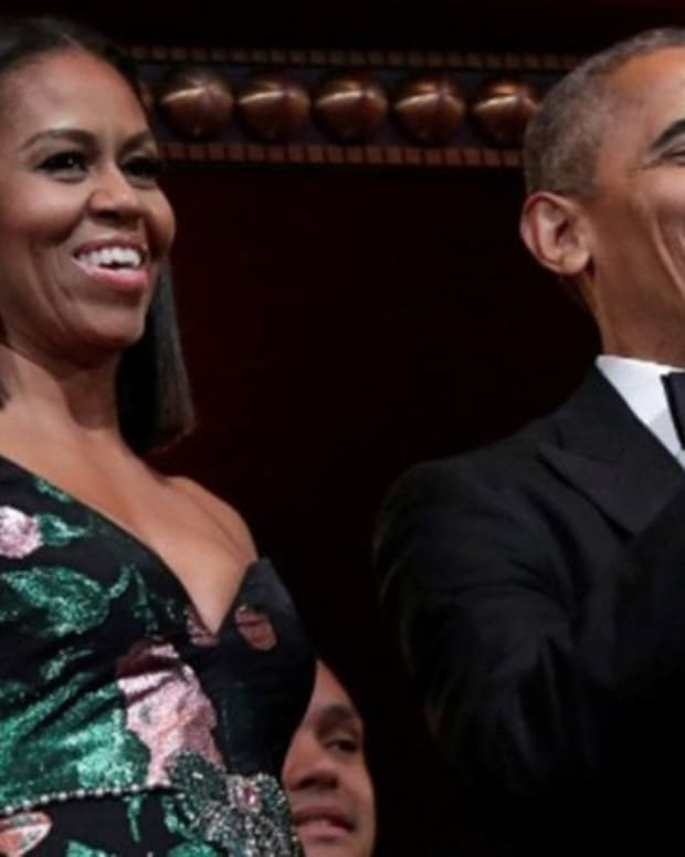 This Michelle Obama Dress Was Called 'Ridiculous' And 'Horrific'; Do You See Anything Wrong? (Photos) Promo Image