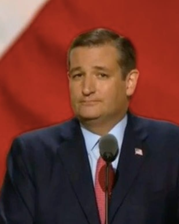 Sen. Ted Cruz Booed Off GOP Convention Stage (Video) Promo Image