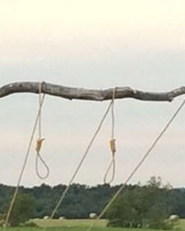 Noose Display Sparks Controversy (Photos) Promo Image