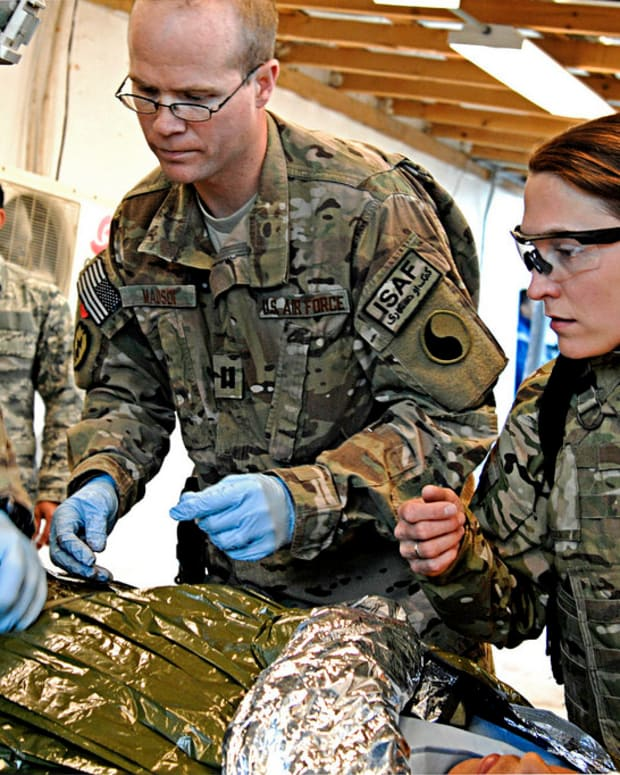 Military Should Use Animals For Medical Training Promo Image