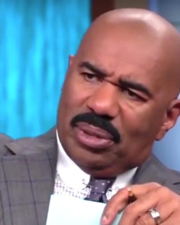 Steve Harvey Mocks Atheist, Plugs Televangelist (Video) Promo Image