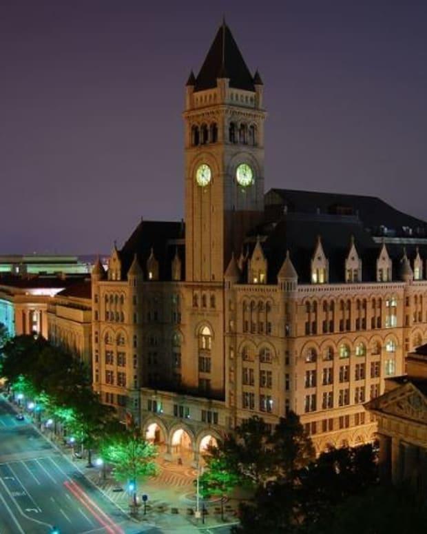 Democrats: Trump Must Cut Ties To D.C. Hotel Promo Image