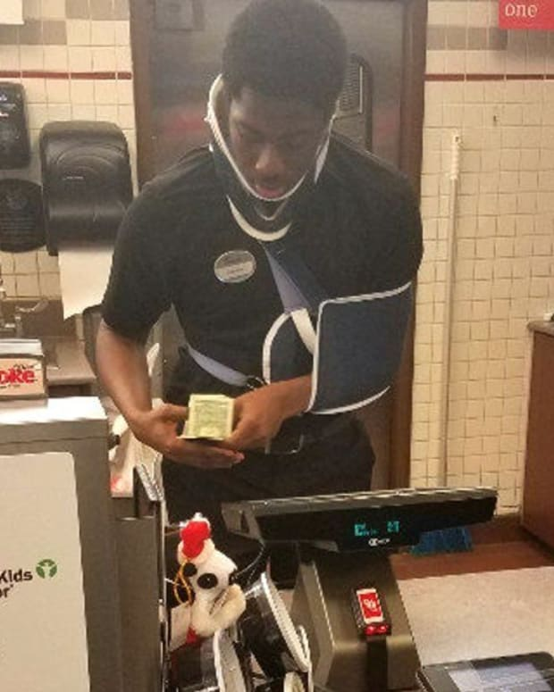 Customer Raises Money For Injured Chick Fil-A Cashier Promo Image