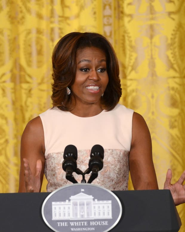 Michelle Obama Natural Hair Picture Goes Viral (Photo) Promo Image