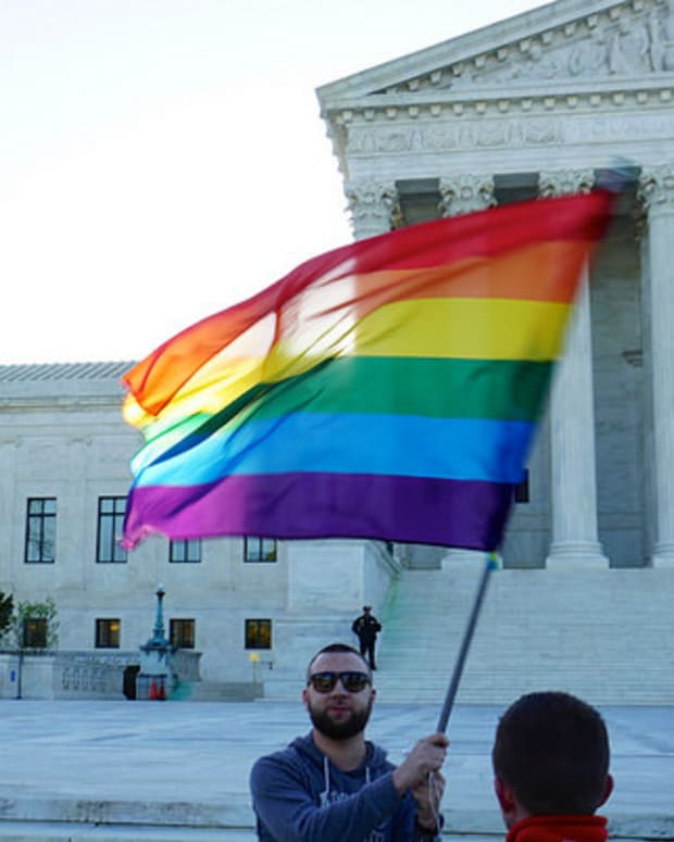 Poll: Americans' Support for Gay Marriage Hits New Peak Promo Image