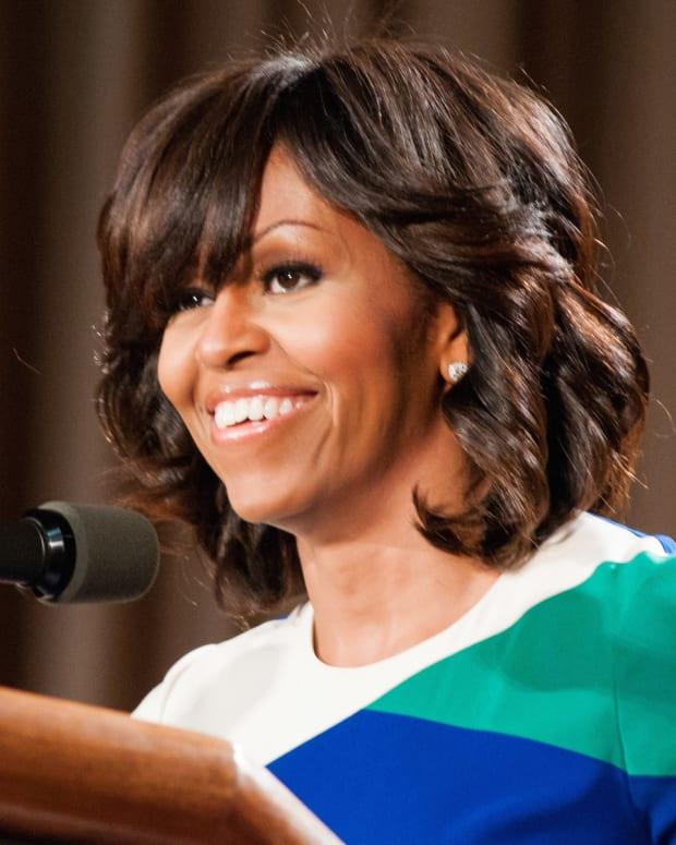 Artist Allegedly Steals Design For Michelle Obama Mural Promo Image