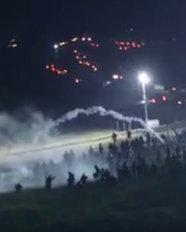 Sheriff Hired Ex-Delta Force Against DAPL Protesters (Video) Promo Image