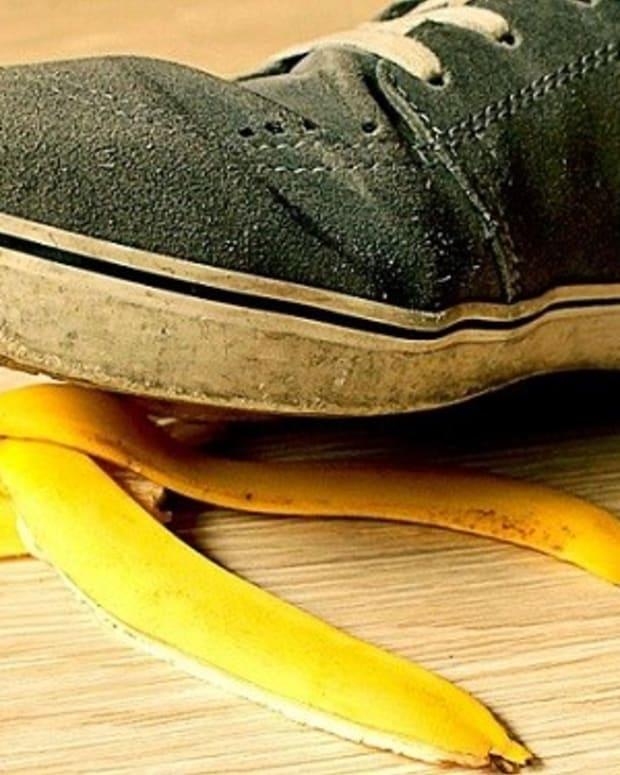 Dangerous Banana Peel Challenge Is Latest Craze (Video) Promo Image