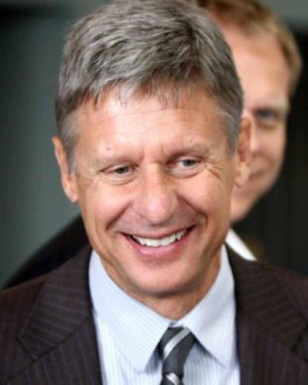Gary Johnson On The Importance Of Personal Freedoms Promo Image