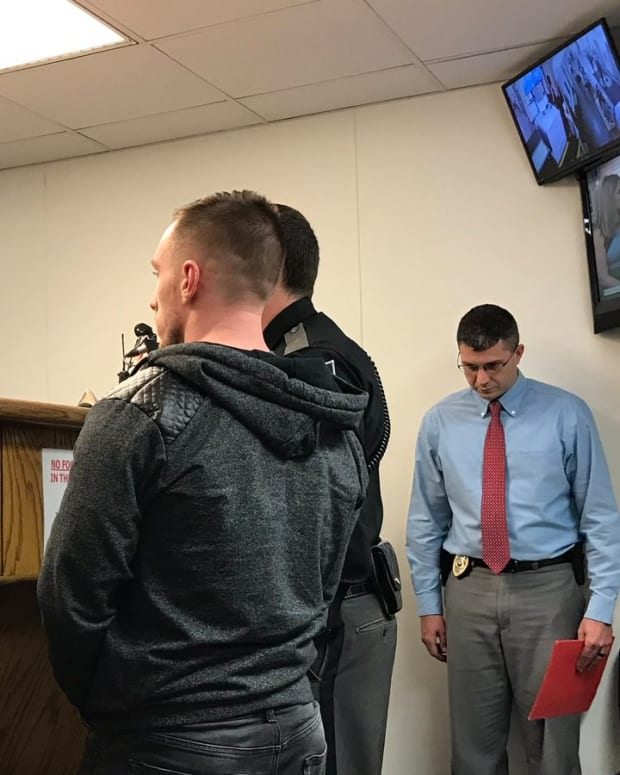 Aspiring Cop Arrested During Job Interview  Promo Image