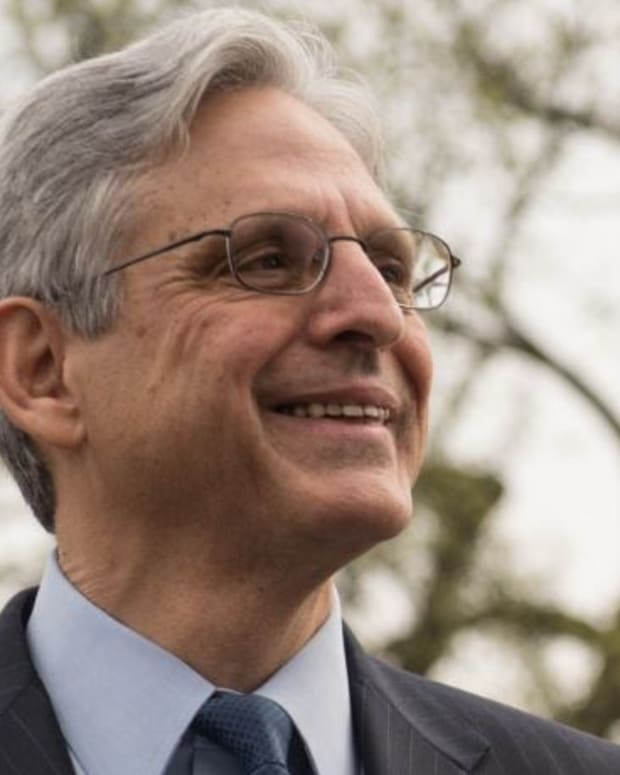 Merrick Garland Back To Bench After Denied SCOTUS Vote Promo Image