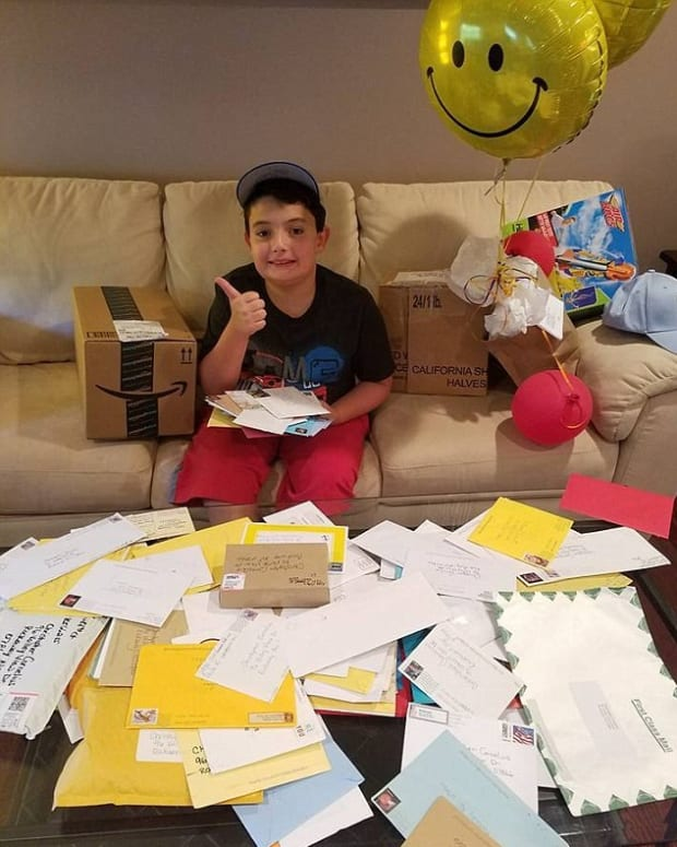 Autistic Boy Receives Nationwide Support (Photo) Promo Image